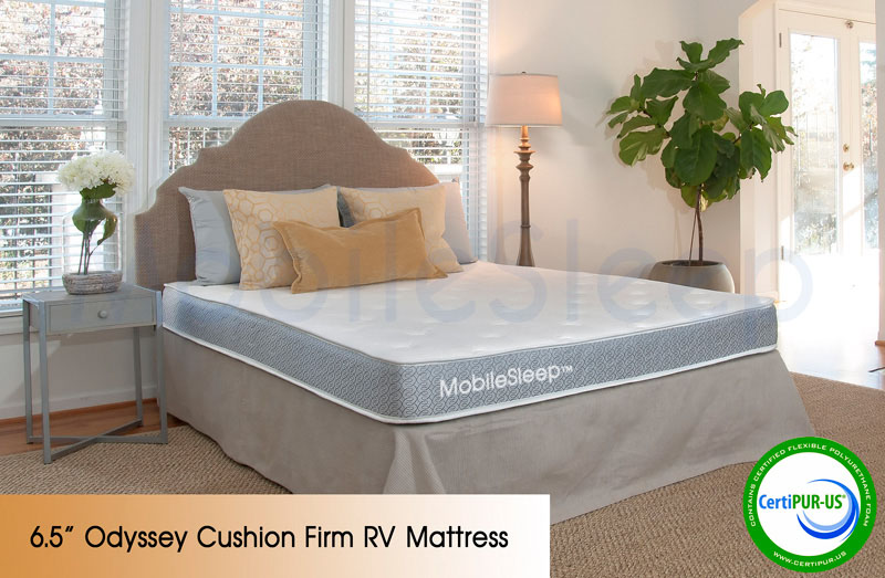 Odyssey Cushion Firm RV Mattress