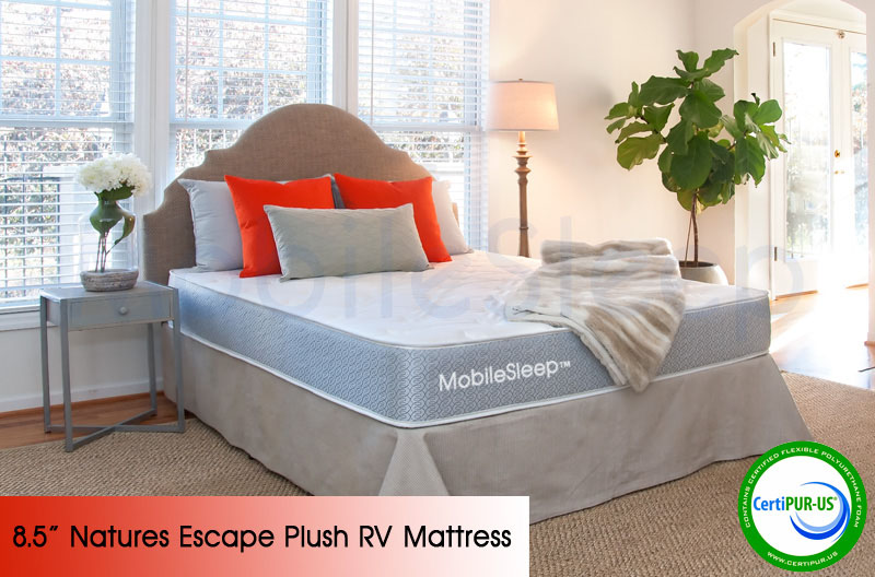 Nature's Escape Plush RV Mattress